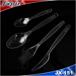 Unbreakable Plastic Tableware Jx151 with Fashion Design pictures & photos