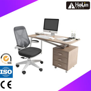 Office Furniture Wooden Executive Office Desk with Cabinet pictures & photos