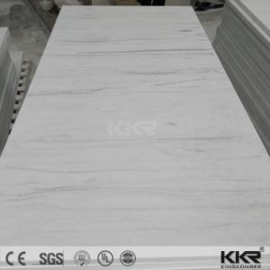 White Artificial Stone Bathroom and Kitchen Countertop pictures & photos