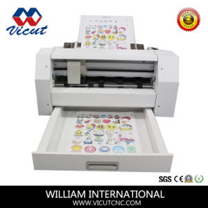 Contour Cut PVC Vinyl Cutter for Sticker pictures & photos