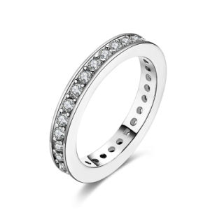 Fashion K Gold Zircon Couple Ring Artificial Jewelry pictures & photos