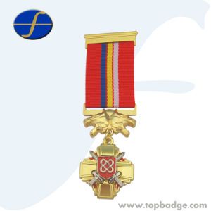 Custom Russian Metal Wholesale Religious Medals (FTMD1372A) pictures & photos