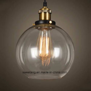 Indoor Light Modern Glass Pendant Lamp for Restaurant Decorative pictures & photos