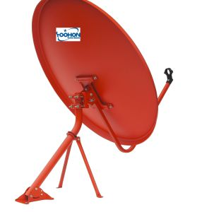 Ku Band 90cm Satellite Antenna with High Gain Certification pictures & photos