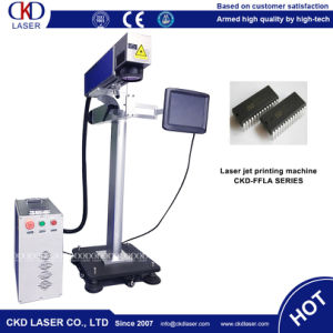 Fly Online Laser Marking Machine for Card Case Pipe Line pictures & photos