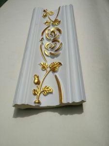 Interir Decoration PU Carving Cornice Moulding/Polyurethane Foam Molding pictures & photos