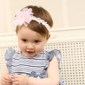 Fashion Baby Hair Accessories Flower Hair Band Hair Ornaments Bowknot Head Band pictures & photos