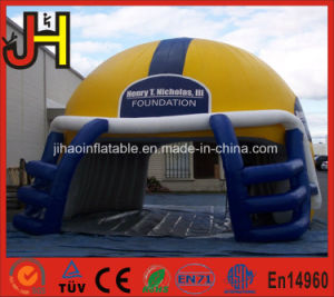 Inflatable Football Helmet Tunnels for Sports Game pictures & photos