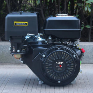 Bison Ohv Air-Cooled Small 15 HP 420cc Gasoline Engine pictures & photos