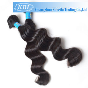 100% Virgin Brazilian Human Hair Body Wave Hair Extensions (KBL-BH-LW) pictures & photos