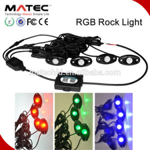 Car Accessories LED Rock Light Bluetooth RGB Controller LED Rock Light for ATV UTV Car Truck pictures & photos
