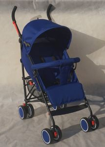 Baby Stroller with 5-Position Adjustment Backrest and Linked Brake pictures & photos