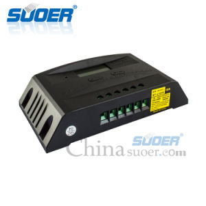 Suoer 12V 24V 10A Solar Power System Solar Intelligent Controller (ST-L1210) pictures & photos