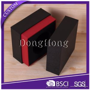 High Quality Recycled Paper Neck Gift Packaging Wallet Box pictures & photos