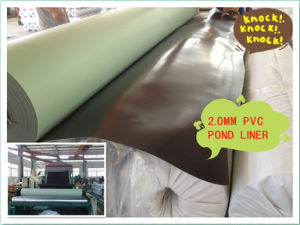 Smooth Surface Gray Blue Color PVC Geomembranes pictures & photos