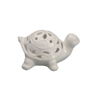 Whithe Porcelain Tortoise with Hollow Design pictures & photos