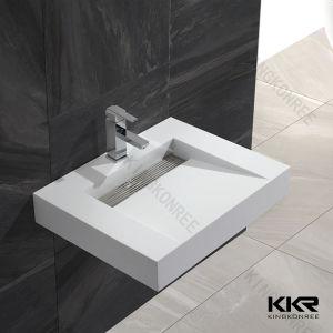Modern Sanitary Ware Bathroom Wall Hung Wash Basin pictures & photos