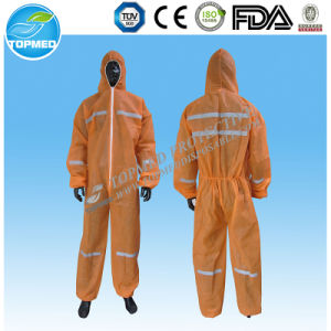 Best Sale Microporous Film Waterproof Disposable Tyvek Coverall, Microporous Coverall for Industrial pictures & photos