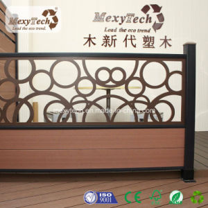 Patented Product Outdoor Garden Privacy WPC Fence with UV Resistance pictures & photos
