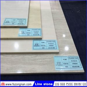 Line Stone Polished Porcelain Floor Tile (VPB6902 600X600mm) pictures & photos