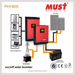 5kw-15kw 48V 3 Phase Solar Inverter with CE pictures & photos