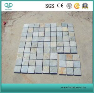 Chinese Natural Grey/Green/Tumbled/Irregular Shape Slate for Paving/ Wall Cladding Decoration pictures & photos