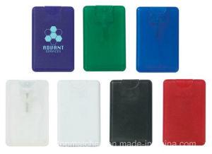 20ml Plastic Credit Card Flat Spray Bottle Pocket Size Card Perfume Sprayer pictures & photos