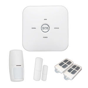 Big Sos Home Intelligent Wireless Anti Theft Burglar GSM Home Alarm System with Low Battery Remind Function pictures & photos