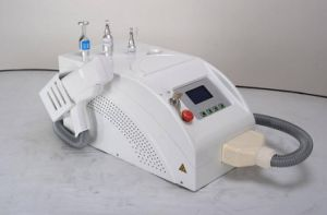 Wholesale Portable Q-Switched ND: YAG Laser Tattoo Removal Machine pictures & photos