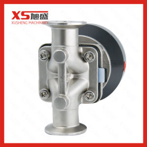 Stainless Steel SS316L Pneumatic Diaphragm Valve with Plastic Actuator pictures & photos