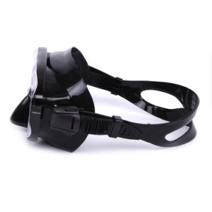 Low Volume Adult Silicone Black Diving Mask and Snorkeling From China (MK-101) pictures & photos