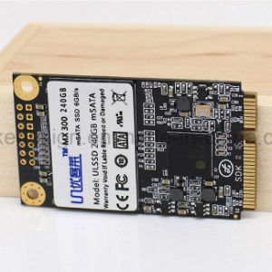 Msata SSD with Cache for Intel Samsung Gigabyte Thinkpad Lenovo Acer HP Laptop Mini PC Tablet 240GB (SSD-015) pictures & photos