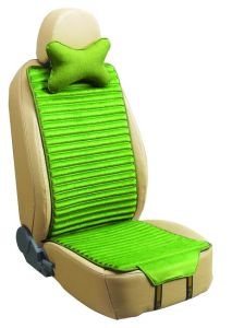 Car Seat Cover Double Sides Use Flax and Velvet-Green pictures & photos