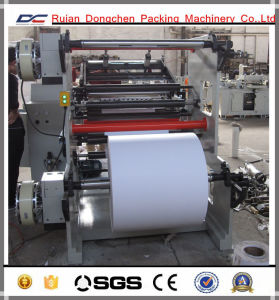 Cash Receipt Thermal Paper Jumbo Roll Slitting Rewinding Machine (DC-HD900) pictures & photos