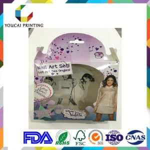 Full Color Folding Cosmetic Gift Paper Box pictures & photos