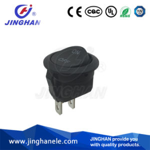 Mini Round Rocker Switch 2 Pin on-off Switch Dia: 20mm pictures & photos