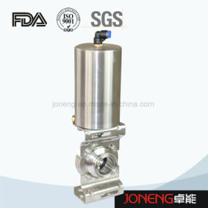 Stainless Steel Sanitary Butterfly Pneumatic Valve with Control Cap (JN-BV1001) pictures & photos