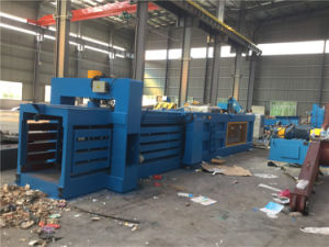 Hpa100A Horizontal Paper/Plastic Baler Machine pictures & photos