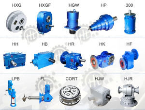 Hh Series Industry Foot Mounted Parallel Shaft Helical Gearbox pictures & photos