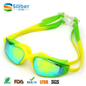 Anti Fog Anti-Shatter UV Protection Swim Goggles for Adults pictures & photos
