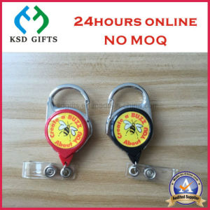 Promotional Novelty Customized Logo Solid Color Badge Holder pictures & photos