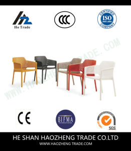 Hzpc017 Outdoor Furniture Imitation Rattan Weaving Chair Armrest pictures & photos
