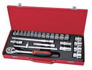 "1/2"" Dr. Socket Set 26 PCS Hardware Hand Tool Set pictures & photos"