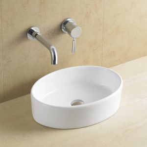 Oval High Quality Washbasin for Bathroom 8066 pictures & photos