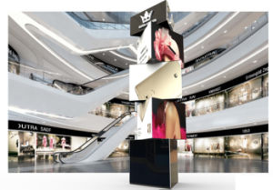 Rotating LED Display P8 3 Layer Rotating pictures & photos
