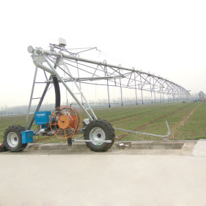 Latest Agricultural Farmland Lateral Move Farm Irrigation System with Mobile Control pictures & photos