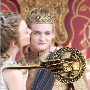 Game of Thrones Inspired Metal Brooch Pin Badge Scepter Hand of The King Gift pictures & photos