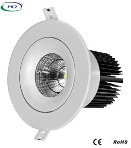 20W/25W COB-W Series Adjustable LED Downlight pictures & photos
