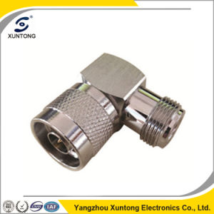Xuntong N Type Male Right Angle Connector RF Coaxial Connector pictures & photos