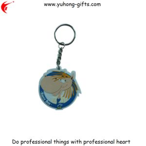 Self Creative Design PVC Rubber Custom Keychain (YH-KC174) pictures & photos